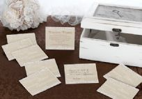 Country Lace Wedding Wishes Cards (48)